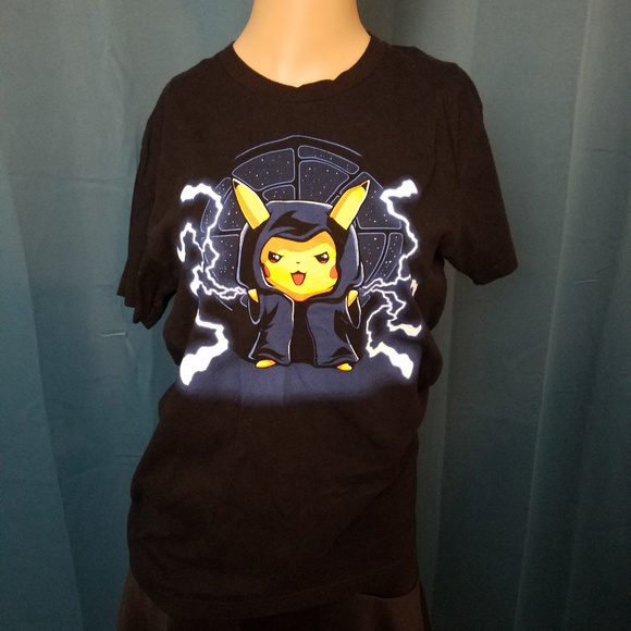 a87828cb Teeturtle Shirts   Pokemon Emperor Palpachu Star Wars Pikachu Shirt ...
